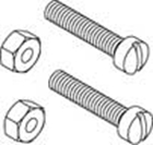 Picture of SCREW & NUT ASSY.  (for handle)