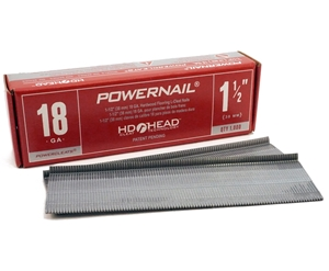 """Picture of SINGLE-Red Box 1-1/2"""" 18 Ga POWERCLEATS (1 X 1M)"""