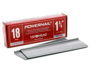 """Picture of SINGLE-Red Box 1-3/4"""" 18 Ga POWERCLEATS (1 X 1M)"""