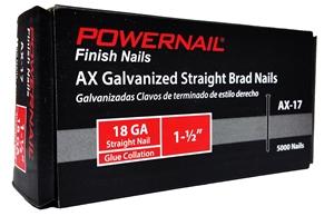 "Picture of 18 Ga. Brad Nails, 1-1/2"" leg - EACH"