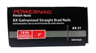 "Picture of 2"" BRAD NAILS AX21, 18 GA"