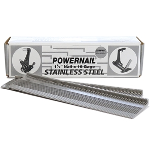 """Picture of 16 Ga. 1-1/2"""" Stainless Steel Powercleats"""