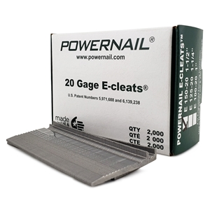 """Picture of 20 Ga. 1-1/2""""  E-Cleats"""