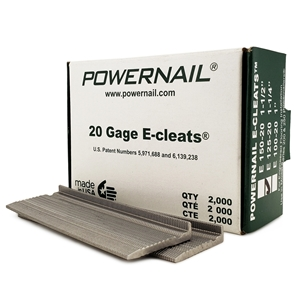 """Picture of 20 Ga. 1-1/4""""  E-Cleats"""